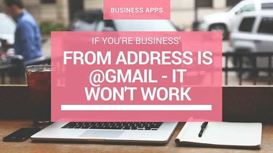 gmail address no good