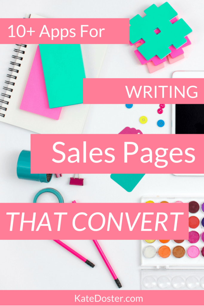 Sales Pages are hard to write when you start from scratch. Use these free and paid tools to easily write sales pages that convert. Click now, repin to you fave pinterest group board