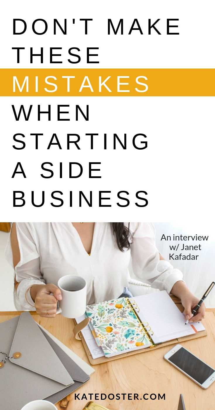 Want to start a business but you're working a 9-5? In this episode of Inbox Besties you'll learn the biggest mistakes you can make when starting a side hustle while working a 9-5 with Janet Kafadar