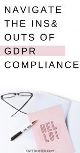Here we are a year and a half later and we are still trying to navigate the ins and outs on these (seemingly) complicated rules when it comes to GDPR #gdpr #emailmarketing