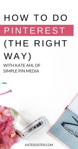 Ready to simplify & streamline your Pinterest marketing strategy? Kate Ahl of Simple Pin Media is diving deep on the ins and outs of standing out on Pinterest.  Best part is, it's easier than you think! This episode is jam-packed with easy, actionable steps you can take today to get the most out of your Pinterest marketing.  Plus, Kate shares how to work with the algorithm to get the most out of each and every pin without having to repin all day long. #pinterestmarketing #inboxbesties