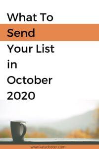 send in october #emailmarketing #digitalmarketing #inboxbesties