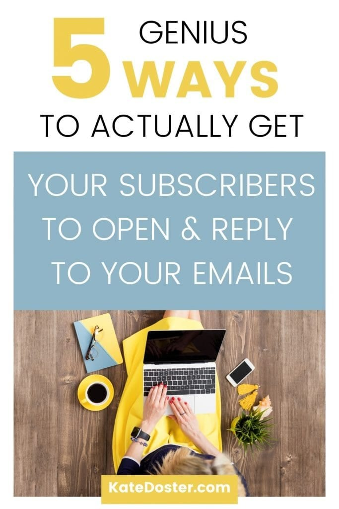 Do you need to jolt your email list awake? With these 5 easy tips you can jolt some life back into your subscribers on your list and make sure they are awake. #email #inboxbesties #moresales