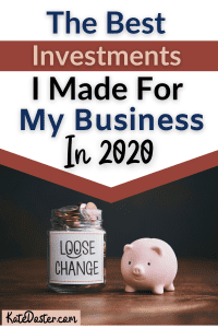 The best investments for my business in 2020. With these best investments i was able to achieve my goals for my business in 2020. #inboxbesties #success #entrepreneur