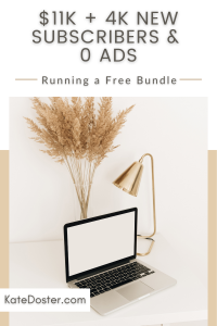 In this week's episode we do a little breakdown of how the Back to Business Bundle went and here's a little spoiler I got over 4k new subscribers and made $11k in sales running a free bundle. Let's talk about how I got over 4k new subscribers and made $11k in sales running a free bundle and how you can add thousands of new subscribers running a free bundle. Get all of the templates and timelines to make running your next free bundle a breeze here #inboxbesties #sales #emailmarketing