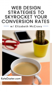 Want to skyrocket your conversion rates? These tips will not only skyrocket your conversion rates but help your website look good too. In this week's episode of Inbox Besties I sit down with Elizabeth McCravy and we talk about how to make a website that not only gets you the conversion rates you want but is also looks darn good. If you want a website that functions properly, looks good, and gets you the conversion rates you've been looking for then this is for you.